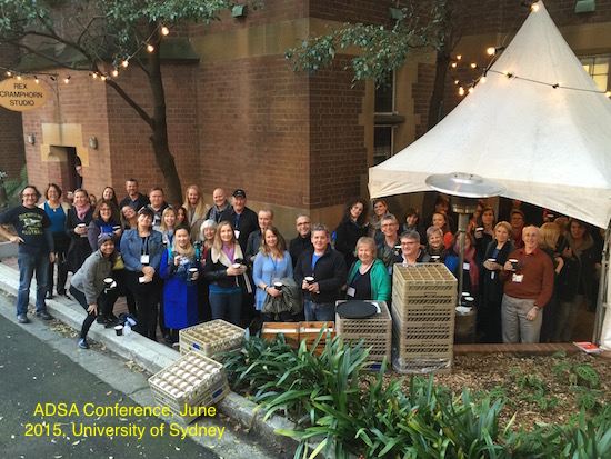 ADSA Annual Conference, June 2015, University of Sydney